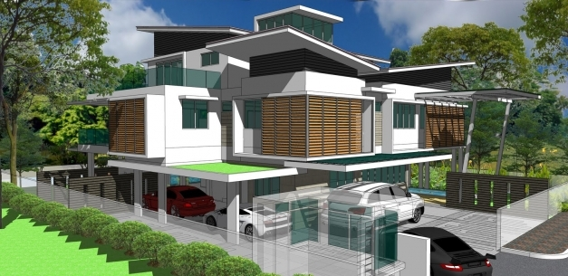 Incredible Latest Bungalow Roofs In Kenya Modern House Flat Roofed 3 Bungalow Kenya Pics