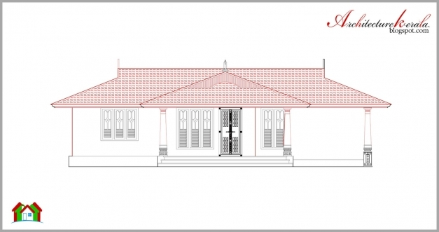 Remarkable Architecture Kerala Beautiful Kerala Elevation And Its Floor Plan Kerala House Plans And Elevations Photo