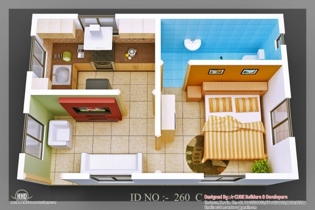 Stylish 48 Simple Small House Floor Plans India Small Flat Roof Double Smoll House Plan Image