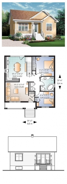 Amazing Best 25 Small House Plans Ideas On Pinterest Small House Floor 15*50 House Design Pic
