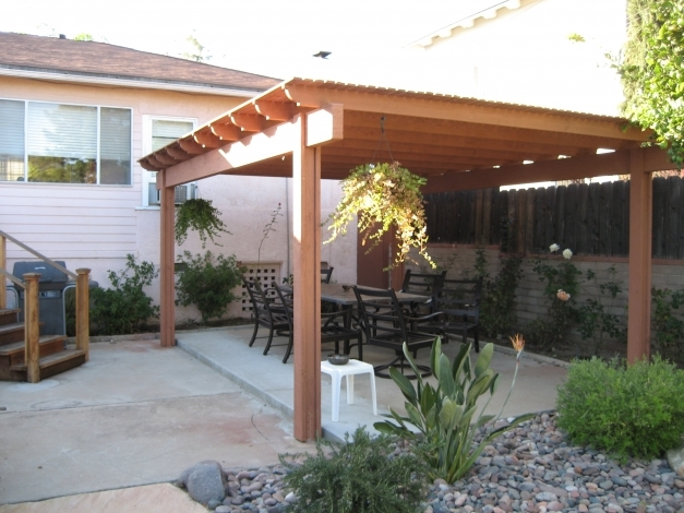 Amazing Metal Roof Patio Cover Designs Patio Metal Roof Photo