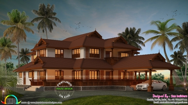 Amazing Traditional Kerala Home For Year 2017 Kerala Home Design And Traditional Kerala House Photos