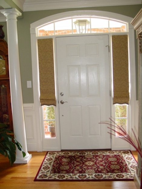Awesome Blinds For Side Windows Front Door Window Blinds Blinds For Sidelights Photos