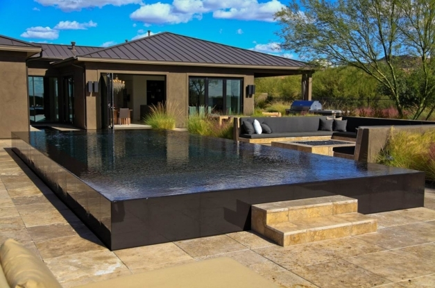 Awesome Design Features For Contemporary Pools Shasta Pools Spas Contemporary Pool Design Pics