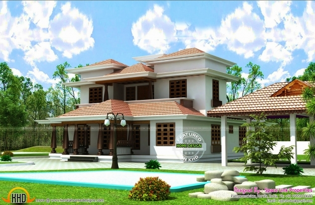 Awesome New Look Of Home Elevation 1947 Sq Ft Kerala Home Design And Floor Kerala Home Design And Floor Plans Images
