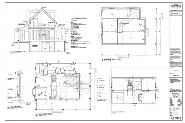 Awesome Rod Crocker Residential Plan Elevation And Section Of Residential Building Images