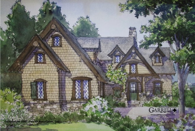 Awesome Timber Bridge Cottage House Plan House Plans Garrell Stone Cottage House Plans Photos
