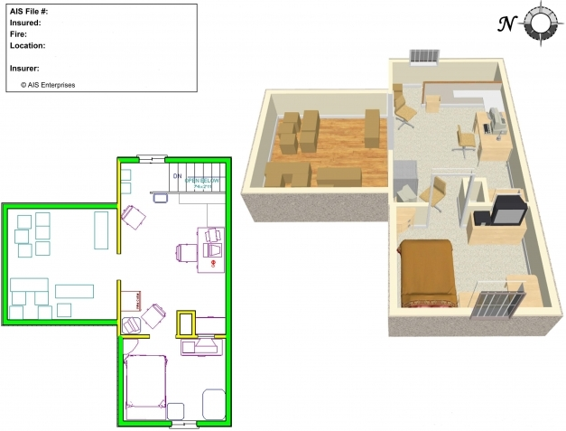 Best 2d 3d Cad Drawings Advanced Investigative Solutions Sample Residential Building Autocad 2D Plan Photo