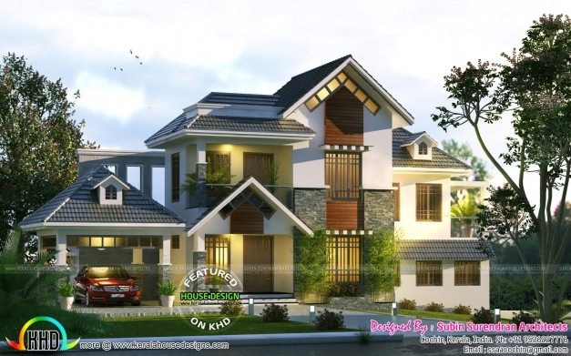 Best Cute Home Trend Of 2017 Kerala Home Design And Floor Plans Kerala House Plans 2017 Photo