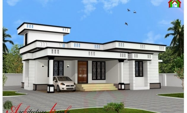 Delightful 1200 Square Feet Two Bedroom House Plan And Elevation 1200 S Feet House Elevation Pics
