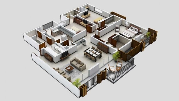 Delightful Excellent Beautiful 3 Bedroom House Plans For Bedroom Shoise Simple House Plan With 3 Bedrooms Pics