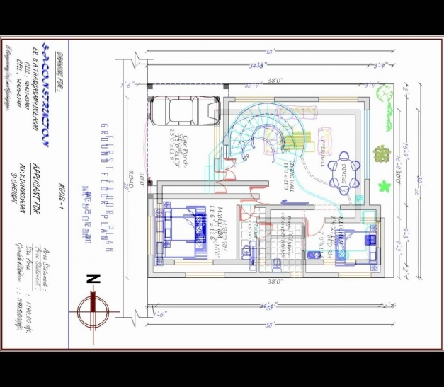 Delightful House Plan West Facing Mp4 Youtube 35 X 60 Plans Maxresde Luxihome North Facing Kerala House Plans Pics