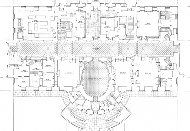 Delightful Mansion Floor Plans White House Ground Home Plans Blueprints Homes Of The Rich Floor Plans Image