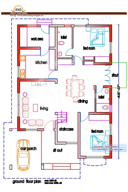 Fantastic 1000 Sq Ft House Plans 2 Bedroom Indian Style In Tami Luxihome 1000 Sq Ft House Plans 3 Bedroom Indian Style Picture