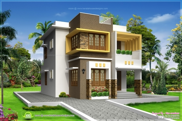 Fantastic 1500 Sq Ft House 16001067 Residence Elevations 1500sqft Single Storey Indian Contemporary House Plan Elevation And Section Images