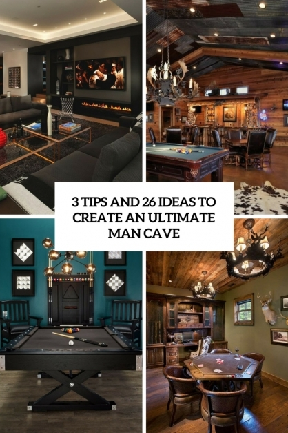Fantastic 3 Tips And 26 Ideas To Create An Ultimate Man Cave Digsdigs Ultimate Man Cave Ideas Pic