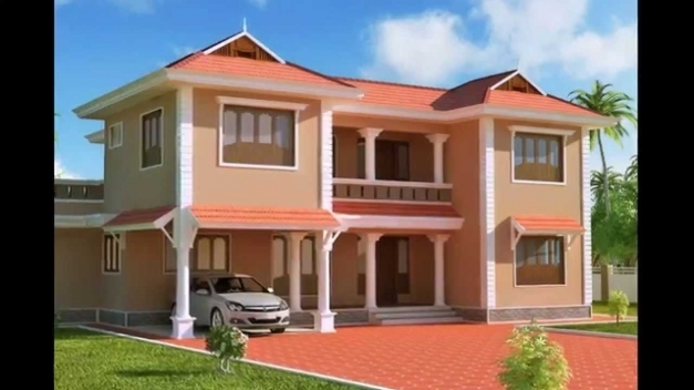 Fantastic Exterior Designs Of Homes Houses Paint Designs Ideas Indian Modern Home Color Outside Pictures