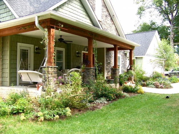 Fantastic Pictures Of Front Porches On Ranch Style Homes Front Porch Designs For Ranch Homes Pic