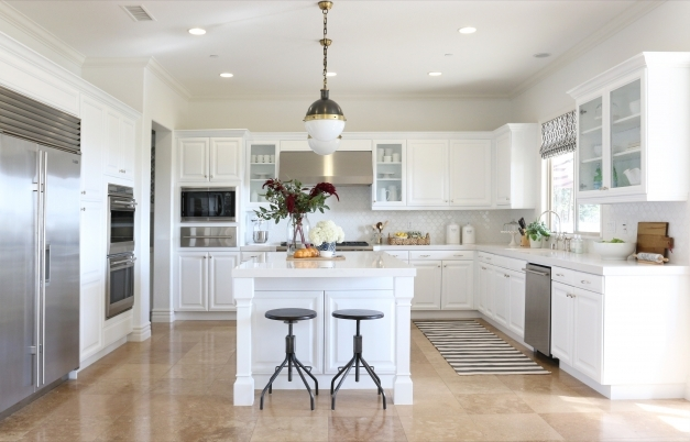Fascinating 11 Best White Kitchen Cabinets Design Ideas For White Cabinets White Craftsman Style Cabinets Pic