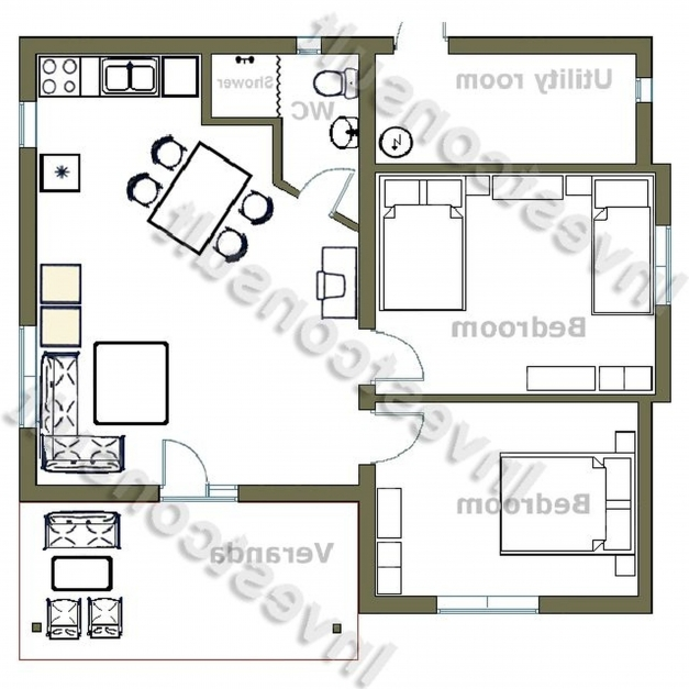 Fascinating 3 Bedroom 2 Bathroom House Plans South Africa Memsaheb South Africa Modern 3bedroom House Image