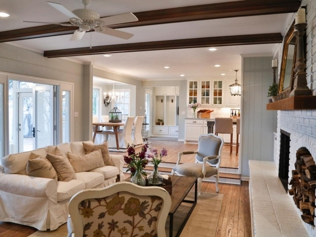 Fascinating French Country Home Decor Also With A French Country Family Room French Country Home Design Ideas Picture