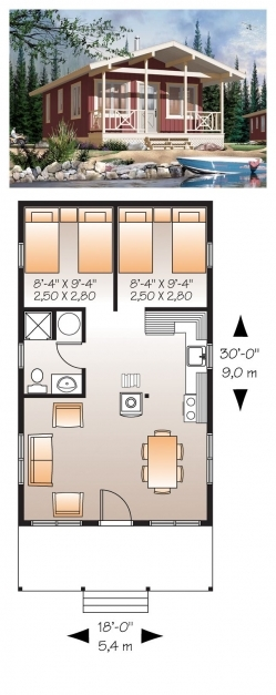 Fascinating Inspiring 1 Bedroom House Plans With Basement 15 Photo Home 15*50 House Design Pictures