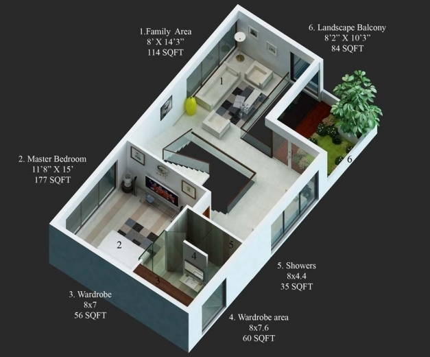 Gorgeous 15 X 50 House Design House And Home Design 15×50 House Images Images