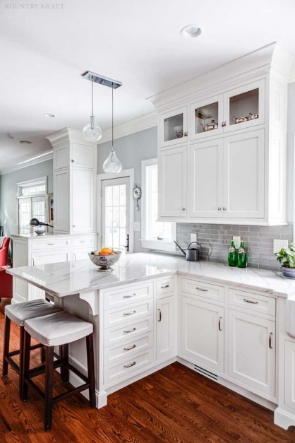 Gorgeous Best 25 White Shaker Kitchen Cabinets Ideas On Pinterest Shaker White Craftsman Style Cabinets Picture