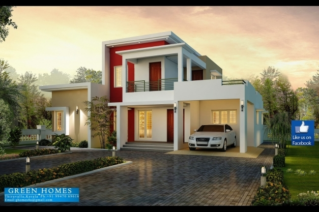 Gorgeous Green Homes Awesome 3 Bedroom Modern House Design Modern 3 Bedroom House With Garage Photos
