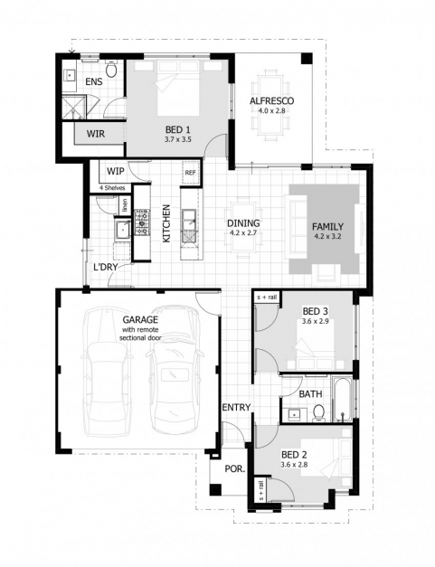 Incredible 2 Bedroom House Plan Best Two Bedroom House Contemporary Guiapar Com Celebration House Plans Pic