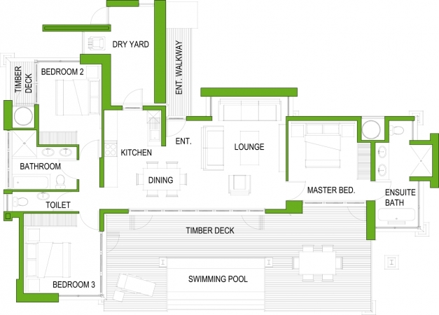 Incredible 4 Bedroom House Designs South Africa Memsaheb South Africa Modern 3bedroom House Images