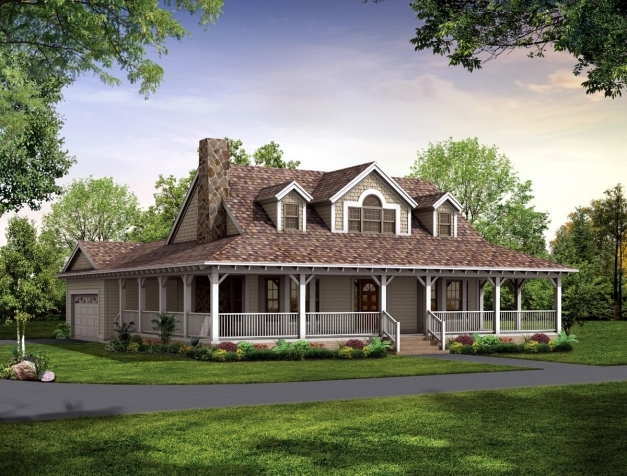 Incredible Cool Farm Style House Plans With Wrap Around Porch 98 For Your Wrap Around Porch Designs Photos