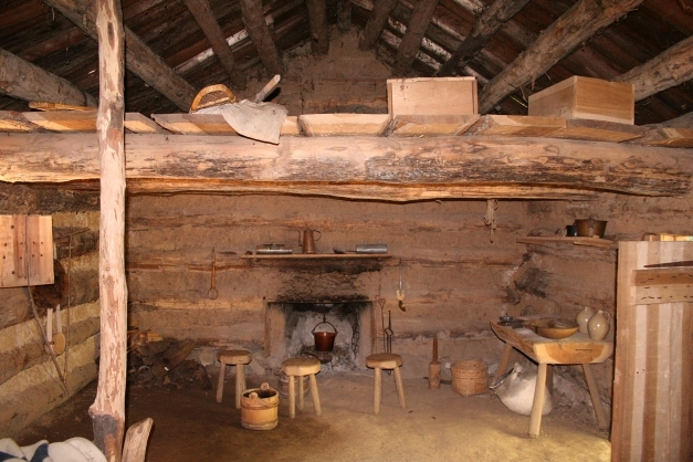 Incredible Fileconner Prairie Log Cabin Interior Wikimedia Commons Inside Of Log Cabin Photos