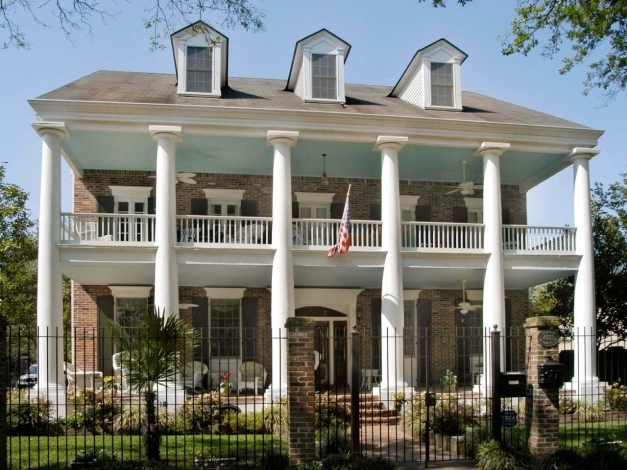 Incredible Porch Posts And Columns Hgtv Colonial Front Porch Designs Pic