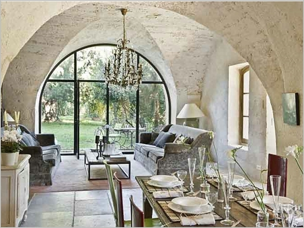 Inspiring Beautiful French Country Style Interior Design Decoration In French Country Home Design Ideas Pic