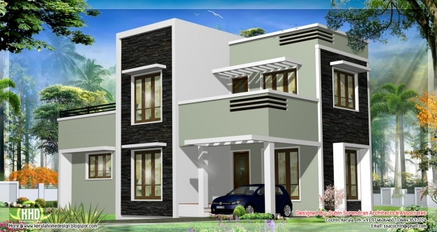 Inspiring Flat Roof House Plans In Kerala Also Great Home Design Com Home Kerala House Plans 2017 Images