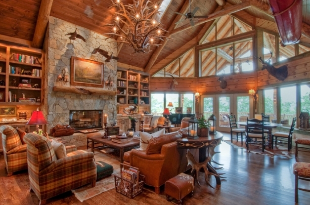 Inspiring Interior Hot Picture Of Log Cabin Homes Interior Decoration Using Inside Of Log Cabin Pic