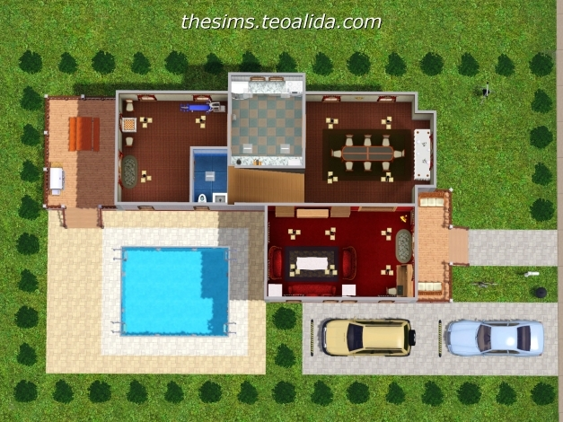 Inspiring L Shaped House The Sims Fan Page L Shaped House Pictures Picture