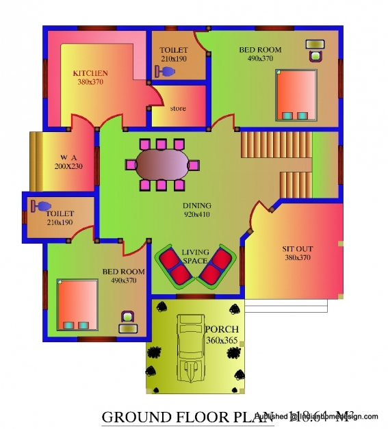 Outstanding 3 Bedroom House Plans 1200 Sq Ft Indian Style Memsaheb 1000 Sq Ft House Plans 3 Bedroom Indian Style Pics