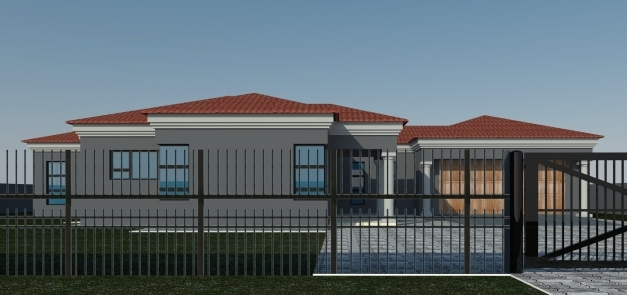 Outstanding 4 Bedroom House Plans South Africa Memsaheb House Plan Africa Picture