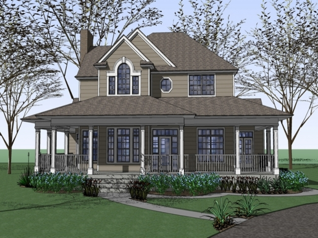 Outstanding Ba Nursery Farmhouse With Wrap Around Porch Plans Farmhouse Wrap Around Porch Designs Pictures