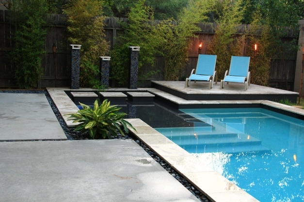 Outstanding Contemporary Pool Home Design Contemporary Pool Design Pic