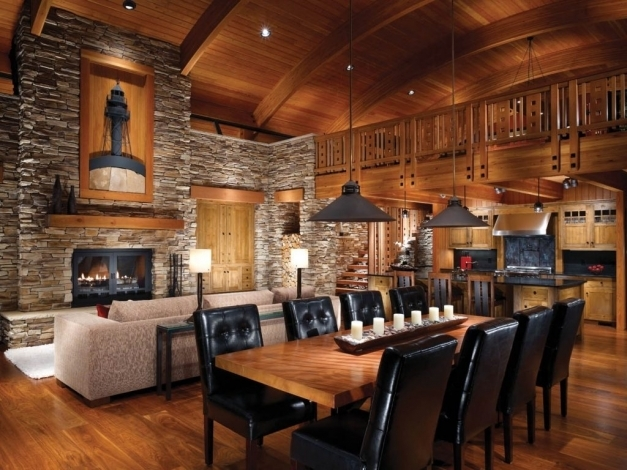 Outstanding Log Homes Interior Designs Images Modern Luxury Log Home Interiors Interiors Within Picture