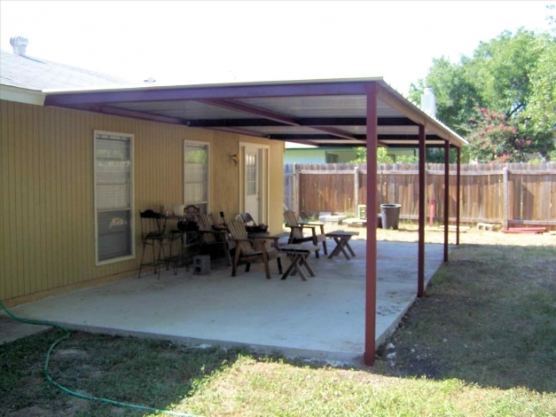 Outstanding Metal Roof Patio Cover Designs Home Roof Ideas Patio Metal Roof Pictures