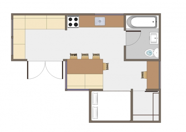 Outstanding Tiny House Floorplans Home Planning Ideas 2018 Small Home Designs Floor Plans Pics