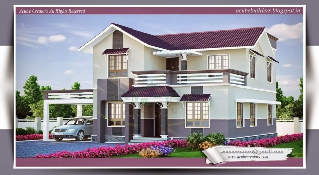 Remarkable Beautiful Kerala Home Plans At 2015 Sqft Kerala Home Design And Floor Plans Pic