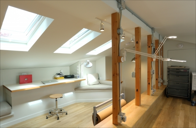 Remarkable Clients Eye View Creating A Light And Airy Art Studio Inside Dormer Windows Inside Pics