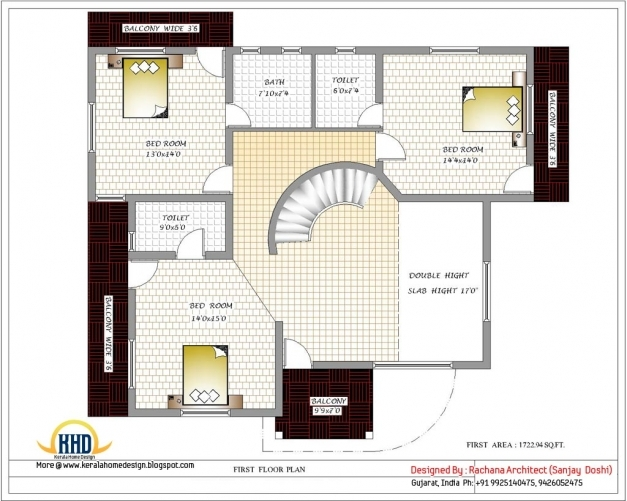 Remarkable Creating Single Bedroom House Plans Indian Style House Style Indian House Plans Pic