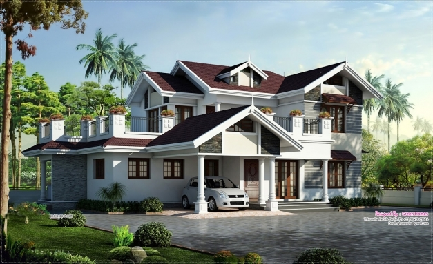 Remarkable Kerala Beautiful House With Concept Photo Home Design Mariapngt Beautiful Kerala House Photo Picture