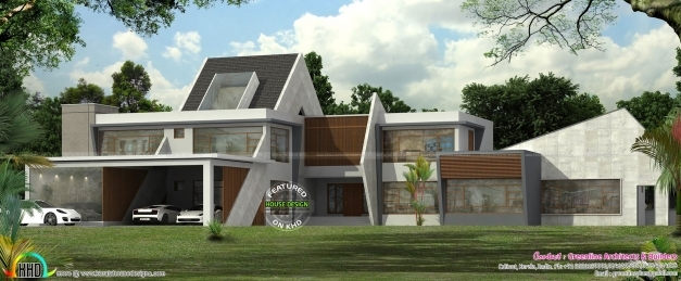 Remarkable Ultra Modern Contemporary House In Kerala Kerala Home Design Images Of Contemporary Houses In Kerala Pictures